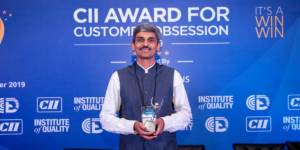 YLG brings home the CII Award for Customer Obsession level – 1