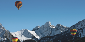 Experience the Swiss World Snow Festival and Hot Air Balloon Festival this winter!