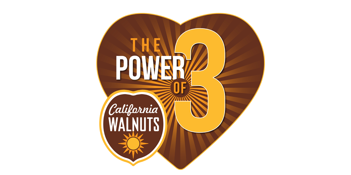 """California Walnuts Launches """"The Power of 3"""""""