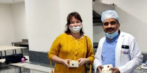 Workshop conducted on World Osteoporosis day at SLG Hospitals