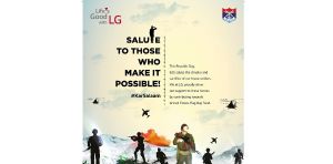 Ahead of Republic Day, LG salutes to those who make it possible!