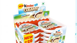 Ferrero India forays into kid's snacking segment with the launch of 'Kinder Creamy'