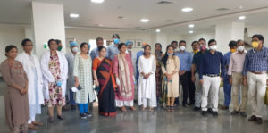 SLG HOSPITALS FELICITATES THE FRONTLINE WARRIORS ON DOCTORS' DAY