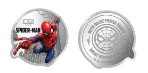 Limited edition Disney and Marvel Silver Coin Collectibles by MMTC-PAMP