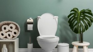The infection you keep having could have originated in your smelly bathroom