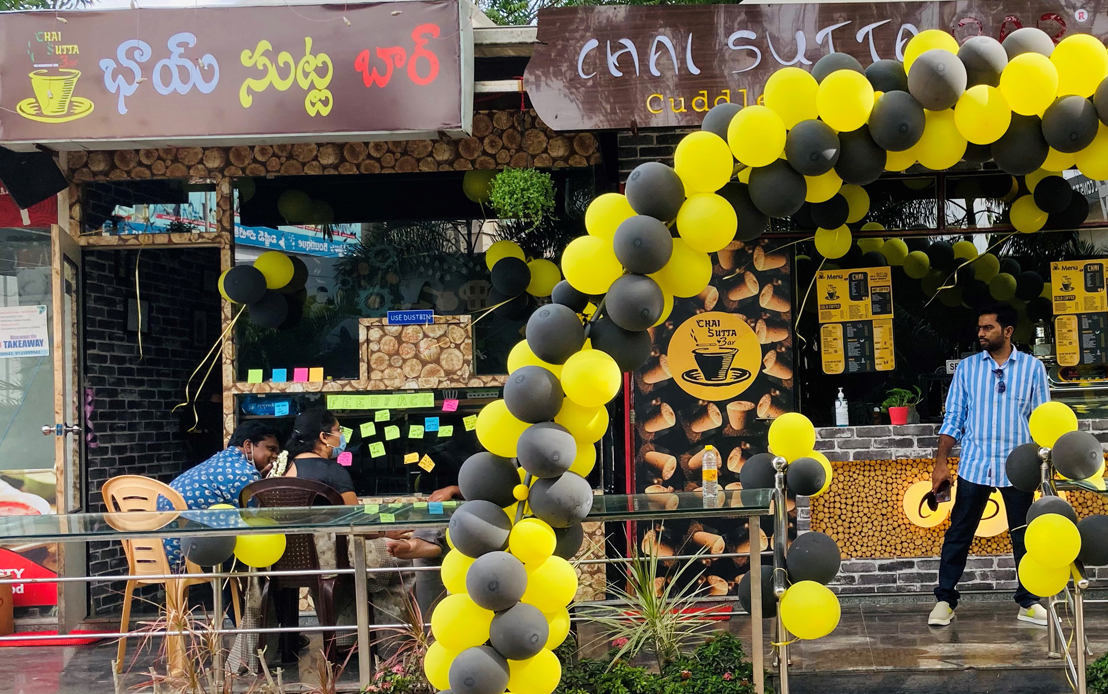 Chai Sutta Bar expands the taste of Kulhad with it's another exclusive venture in Hyderabad