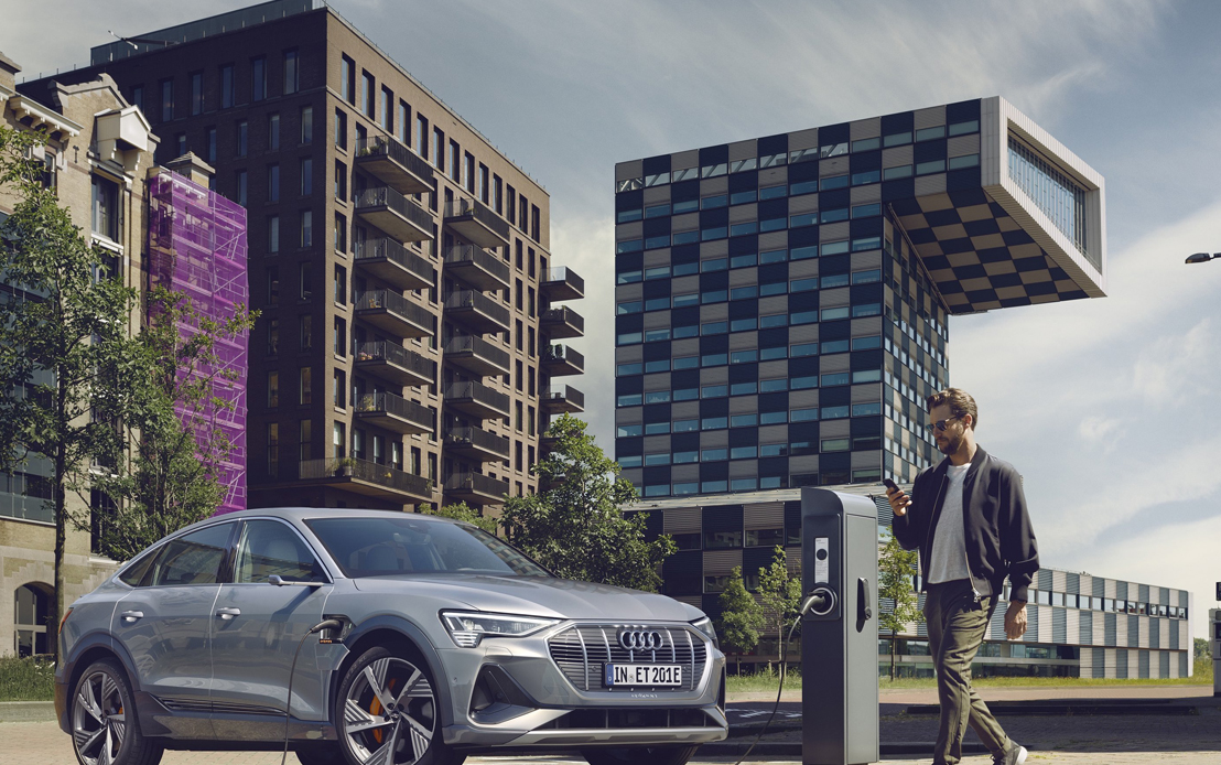 Audi India announces a series of charging options and benefits for EV customers